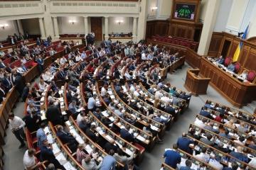 Le Parlement ukrainien dissout la CEC