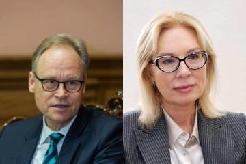 Denisova, Siebert discuss release of Ukrainians imprisoned in Russia