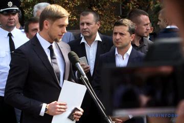 Volodymyr Zelensky se rend dans la région de Dnipropetrovsk