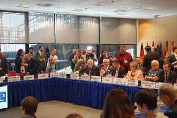 La délégation ukrainienne a décidé de revenir à la réunion de l'OSCE