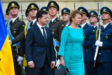 Zełenski spotkał się z prezydentem Słowacji ZDJĘCIE, WIDEO