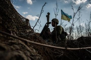 Donbass : 18 attaques perpétrées par les mercenaires russes, un militaire ukrainien tué et 4 autres blessés
