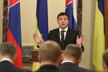 Zelensky names three major issues for Normandy format summit