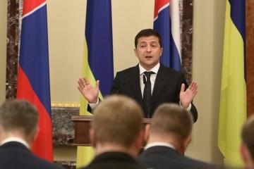 Volodymyr Zelensky a énuméré trois sujets principaux à aborder lors d'une réunion en format Normandie