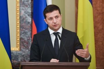 Präsident Selenskyj nennt Erwartungen an Normandie-Treffen