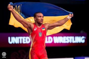 L'Ukrainien Jean Beleniuk devient le champion du monde de lutte gréco-romaine pour la deuxième fois