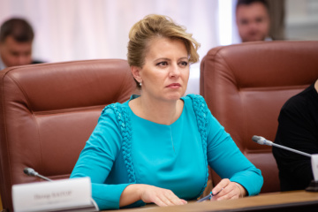 Slovakia supports Ukraine's position on Nord Stream 2 - Caputova