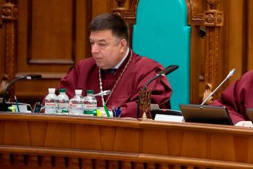 """Jefe de la Corte Constitucional ve en el proyecto de ley de Zelensky """"señales de un golpe constitucional"""""""