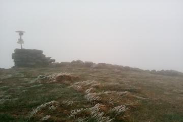 Il neige dans les Carpates
