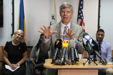 Taylor: Deployment of peacekeepers is a chance to settle situation in Donbas