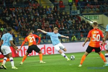 UEFA Champions League: Shakhtar verliert gegen Manchester City