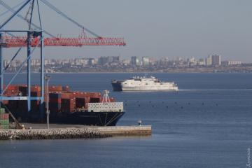 NATO-Schiff in Odessa