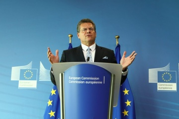 Sefcovic proposes Ukraine, Russia sign gas contract for at least ten years