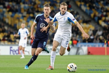 Dynamo Kyiv beat Malmo in Europa League opener
