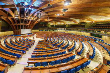 Українська делегація відбула на сесію ПАРЄ