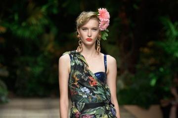 Ukrainische Models bei Modewoche in Mailand