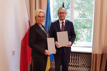 """Ukraina i Polska podpisują """"antyksenofobiczny"""" dokument ZDJĘCIE"""