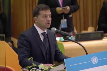 Zełenski w ONZ – stałemu rozwojowi Ukrainy przeszkadza agresja Rosji