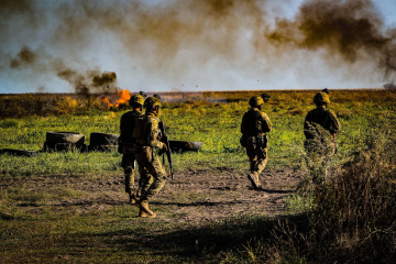 Russian-led forces launch 17 attacks on Ukrainian positions in Donbas