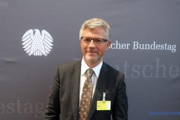 Ambasador Melnik powiedział posłom Bundestagu o krokach Ukrainy w kierunku integracji europejskiej