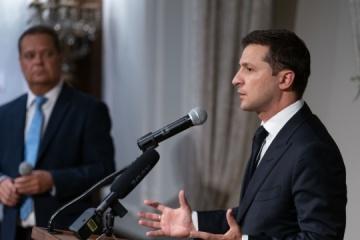 Zełenski przypomniał Ławrowowi, że Rosja ma zwrócić Ukrainie jej terytorium WIDEO