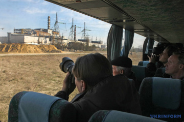 Over 100,000 tourists have visited Chornobyl this year