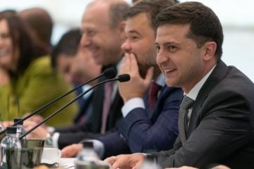 Zełenski na spotkaniu z amerykańskimi biznesmenami obiecał rozwiązać problemy inwestorów
