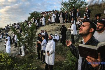 Pèlerinage à Ouman: Plus de 19 000 pèlerins hassidiques sont déjà arrivés en Ukraine