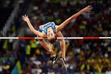 2,06 Meter: Hochspringerin Yaroslava Mahuchikh stellt Nationalrekord auf