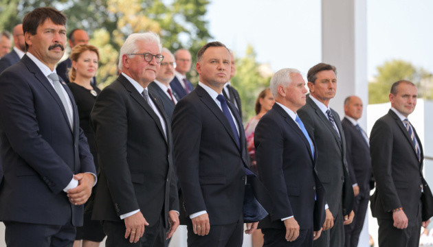 Дуда під час меморіальних заходів у Варшаві згадав про агресію РФ проти України та Грузії