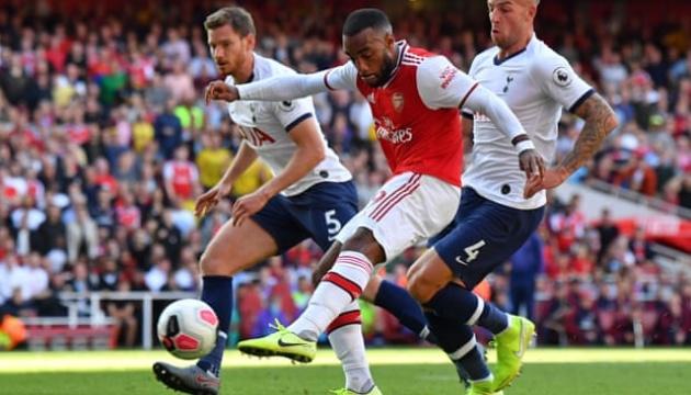 АПЛ: «Тоттенгем» і «Арсенал» зіграли внічию