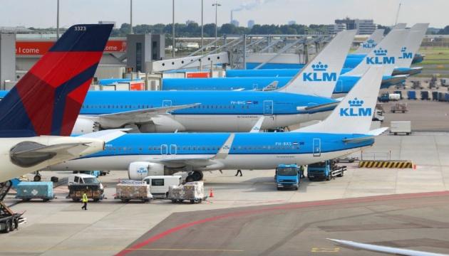 Авіакомпанія KLM призупиняє польоти над Білоруссю