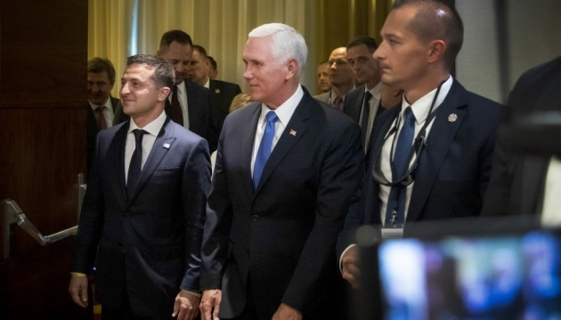 Pence, Zelensky discuss future visit of Ukrainian president to USA