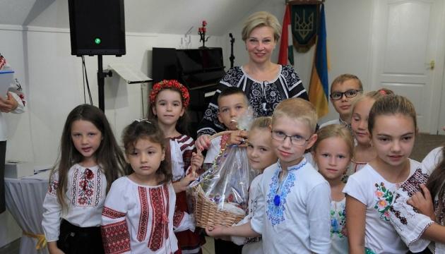 В українській недільній школі у Будапешті розпочався новий навчальний рік