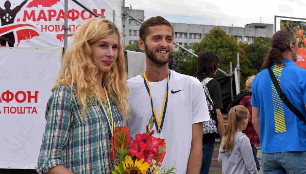 Михайлова и Олефиренко выиграли чемпионат Украины по полумарафону-2019