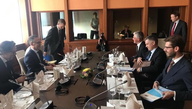 Пристайко провів у Берліні перемовини з главою МЗС Німеччини