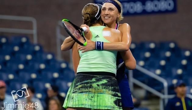 Людмила Киченок с Еленой Остапенко вышли в четвертьфинал US Open