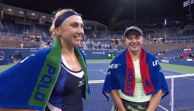 Киченок и Остапенко прокомментировали выход в четвертьфинал US Open
