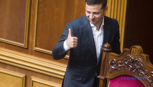 Роботою Зеленського задоволені 71% українців