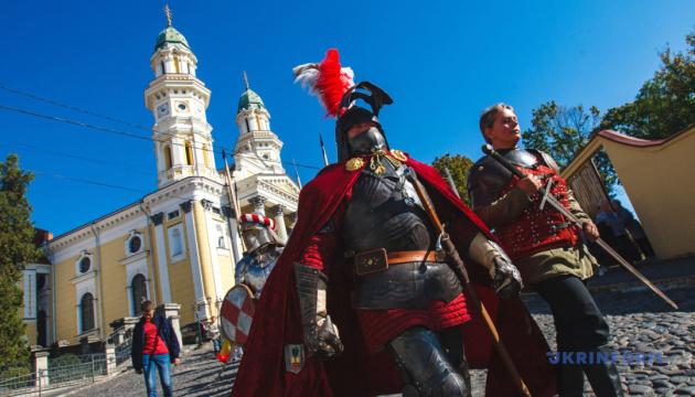 В Ужгороде устроят рыцарский фестиваль в честь графов Другетов