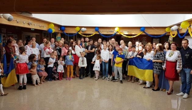 Учні української школи в Норвегії творчо привітали громаду з Днем Незалежності