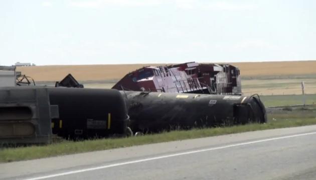Через аварію на залізниці в Канаді оголосили евакуацію