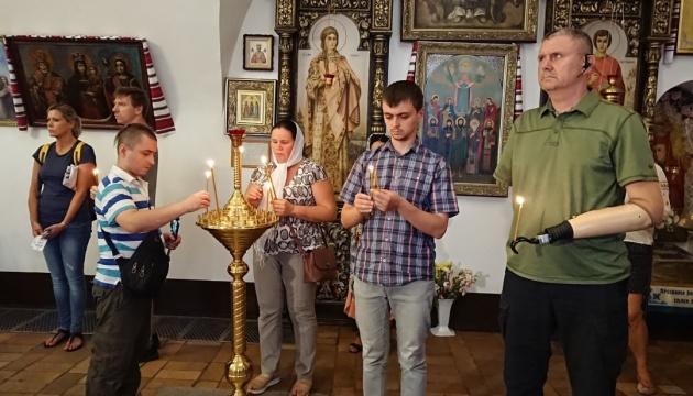 У Михайлівському соборі відправили панахиду за загиблими військовими