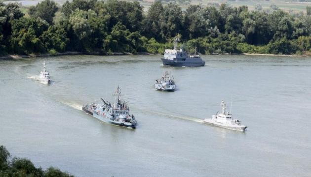 На Дунае стартовали украинские-румынские флотские учения Riverine-2019