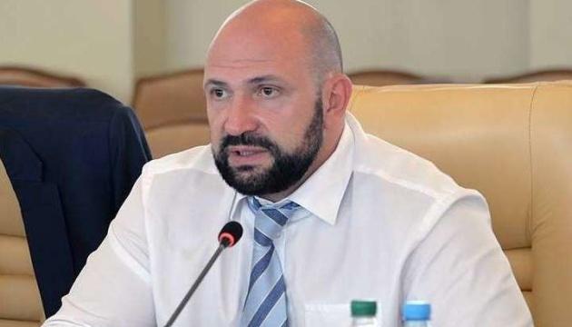 Парцхаладзе уволили с должности заместителя министра Минрегиона