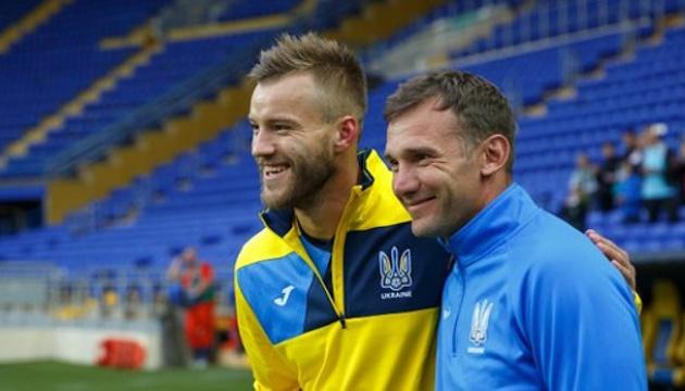 Шевченко впевнений, що Ярмоленко готовий відіграти на полі всі 90 хвилин матчу
