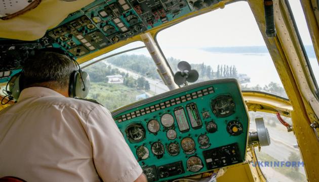 Вертолітні екскурсії над Запоріжжям продовжили