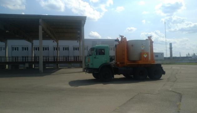 Під Чорнобилем прийняли на захоронення перші 120 упаковок радіоактивних відходів