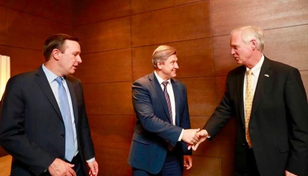 Данилюк обговорив з сенаторами США розширення оборонної підтримки України