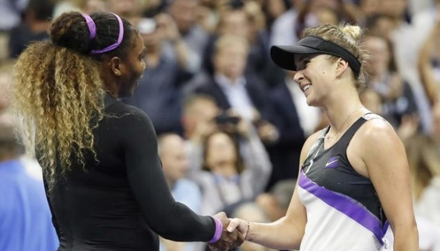 Світоліна програла Вільямс у півфіналі Відкритого чемпіонату США з тенісу
